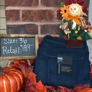 Men's Brand New With Tags Paige Lennox Jeans